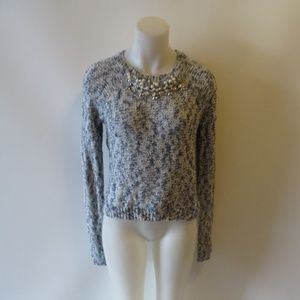 NWT ABERCROMBIE & FITCH CABLE-KNIT SWEATER S: 8 *